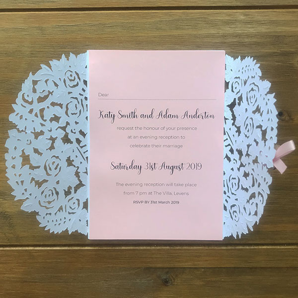 Wedding Stationery - Evening Invitations